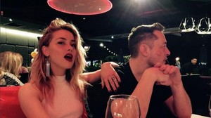 Amber Heard y Elon Musk confirman su noviazgo.