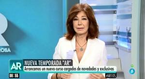 """Ana Rosa Quintana, sobre su marido: """"No soy la más indicada para informar de algo que afecta a mi familia"""""""