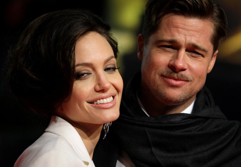 Angelina Jolie y Brad Pitt, en una gala en Berlín, en el 2009.