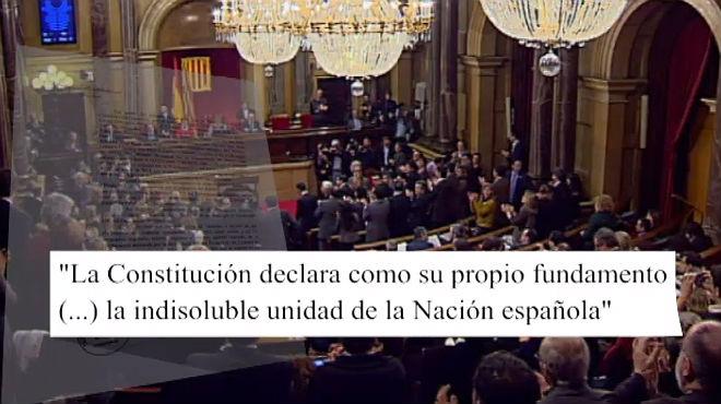 El Constitucional confirma la ilegalidad de algunos párrafos de la declaración.