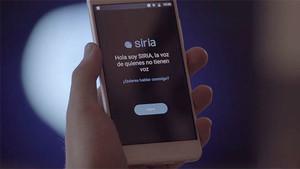 La app SIRIA.