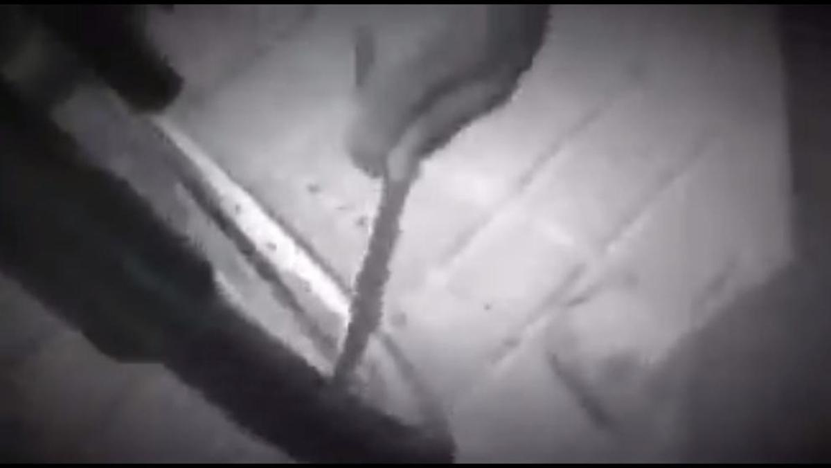 Vídeo del ataque a las bicis de alquiler.
