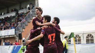 El Barça conquista la Champions juvenil ante el Chelsea (0-3)