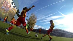 Una imagen del reportaje FCB Escola: exportant lestil.