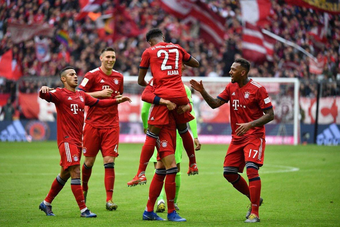 El Bayern llegó a 74 puntos en la Bundesliga
