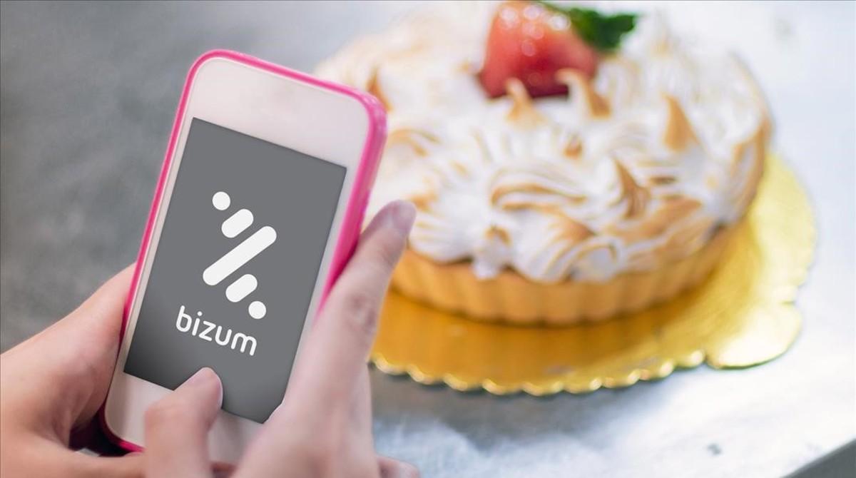 La nueva aplicación en un dispositivo móvil.