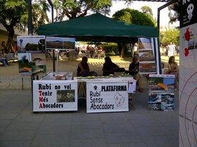 Veïns de Rubí es manifestaran en contra de l'obertura del futur abocador de Can Balasc