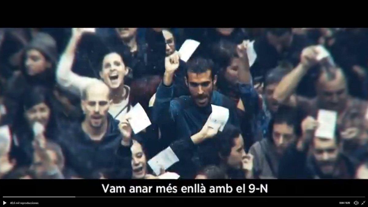 Captura de pantalla del vídeo difundido por la Generalitat.