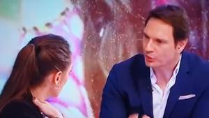 Cárdenas, en un momento de la entrevista