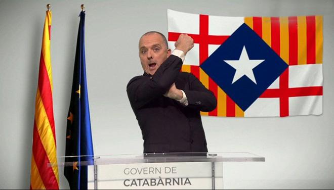 Albà, presidentde Catabàrnia aTV-3.