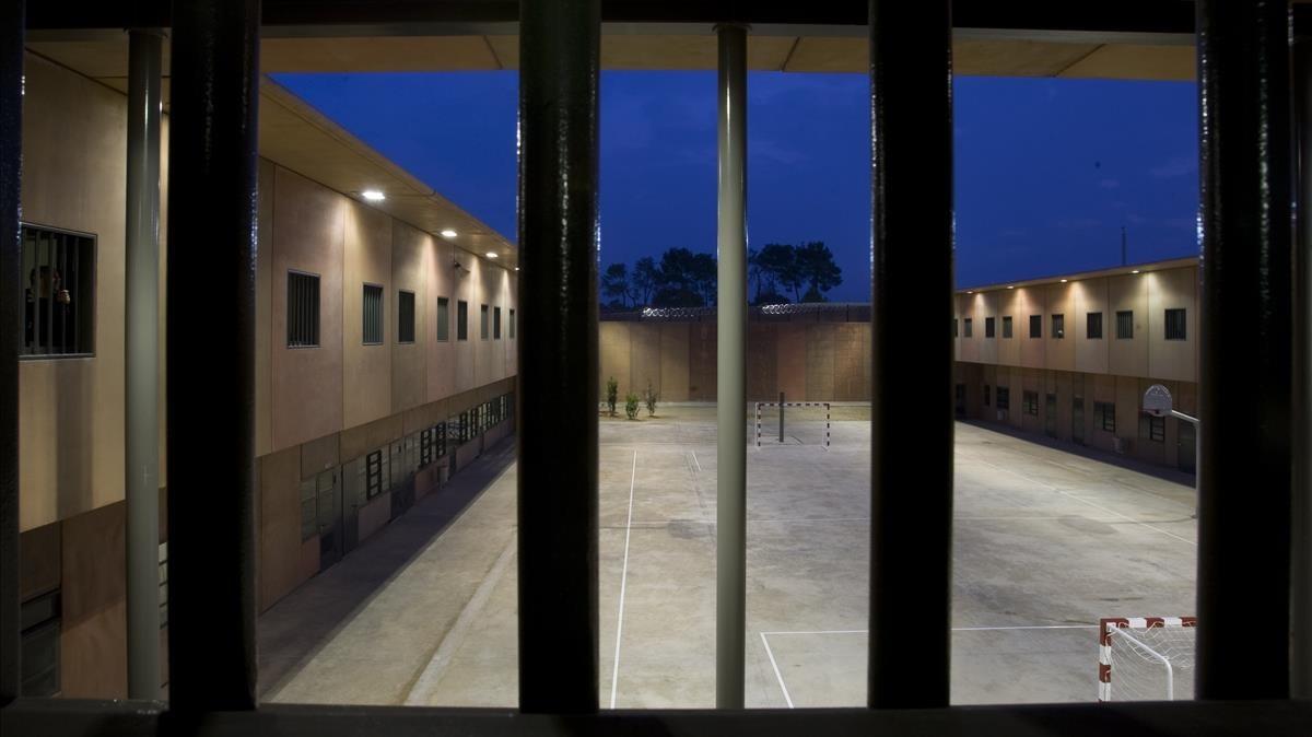 El centro penitenciario Lledoners, en Sant Joan de Vilatorrada.
