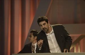 Cesc Gay y Tomàs Aragay reciben el premio al mejor guion por Truman