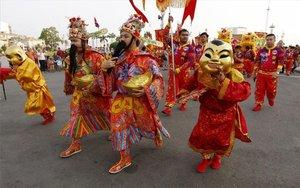 Festejos del Año Nuevo chino.