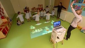 Realitat virtual per a l'ensenyament infantil