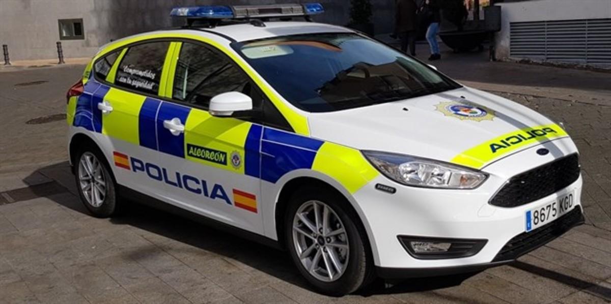 Un coche de la Policía municipal de Alcorcón.