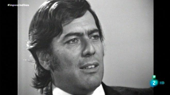 MarioVargas Llosa, en los años 60 (TVE).