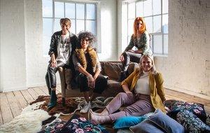 Cuatro de las mamás de la serie documental 'Madres haciendo porno'.
