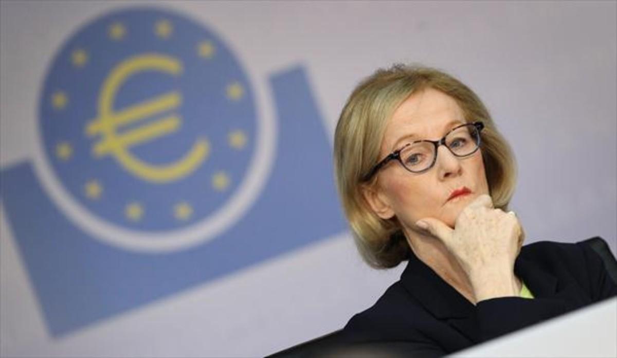 Danièle Nouy, presidenta del Consejo de Supervisión del BCE.