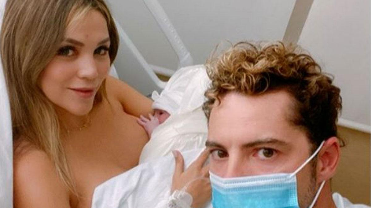 David Bisbal y Rosanna Zanetti dan la bienvenida a su segunda hija en común.