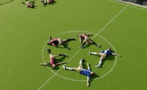 Discofoot, el deporte que mezcla fútbol y ballet