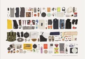 Estos son todos los objetos que tocó en un día el chef de Madrid Estanis Carenzo.