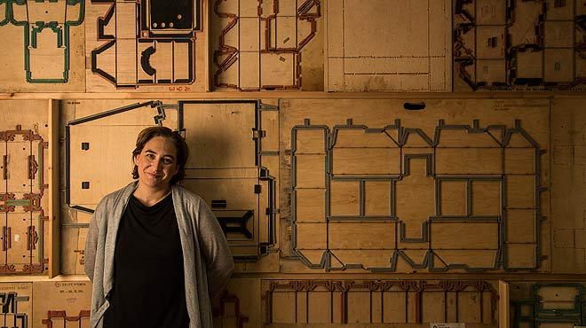 Entrevista con Ada Colau, alcaldable de Barcelona en comú.