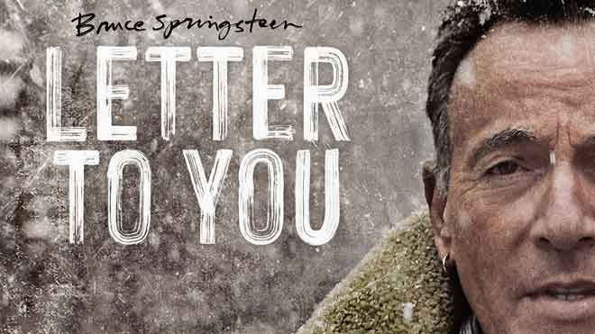 Entrevista con Bruce Springsteen con motivo de la publicación de 'Letter to you'.