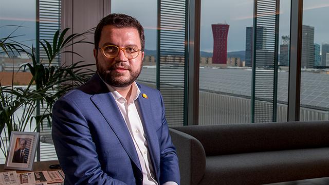 Entrevista a Pere Aragonès