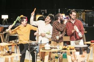 Escena de 'Out of Cage' en L'Auditori.