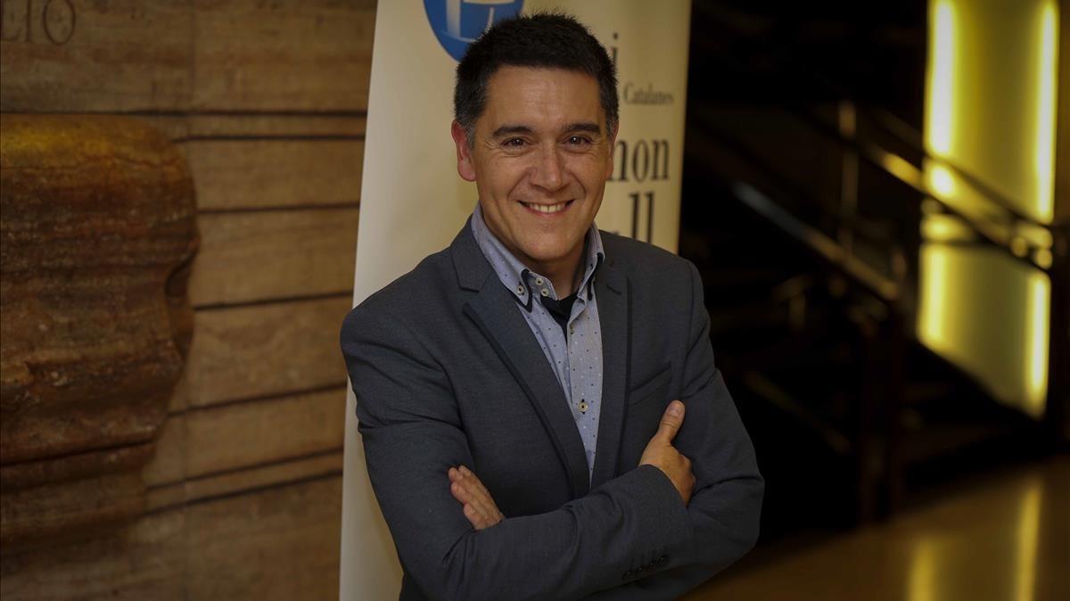 El escritor Martí Gironell.