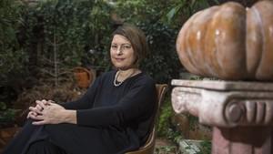 La escritora barcelonesa Clara Usón.