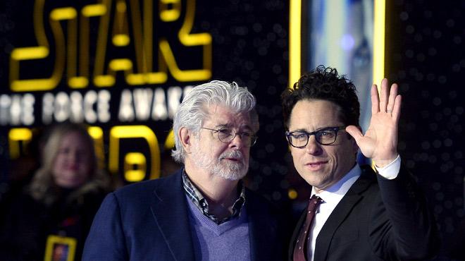 Estreno mundial de la nueva película de Star Wars en Los Ángeles.