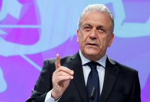 El comisario europeo para las Migración, Asuntos de Interior y Ciudadanía, Dimitris Avramopoulos, en una foto de archivo.