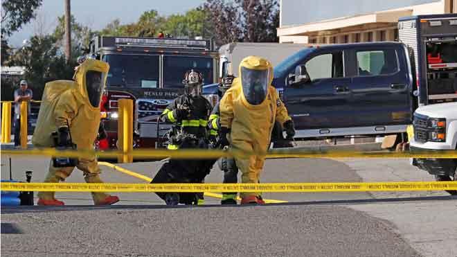 Evacuada parte de la sede de Facebook en California por un paquete que podía contener gas sarín.