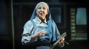 Carmen Machi transformada en Sor Ángela en una escena de 'La autora de LasMeninas', de Ernesto Caballero.