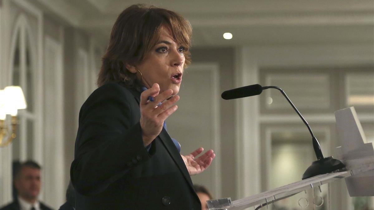 Delgado rebutja les exigències d'ERC: no es donaran instruccions a la Fiscalia