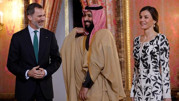 Mohamed Bin Salman también mantendrá encuentros con Rajoy y Cospedal