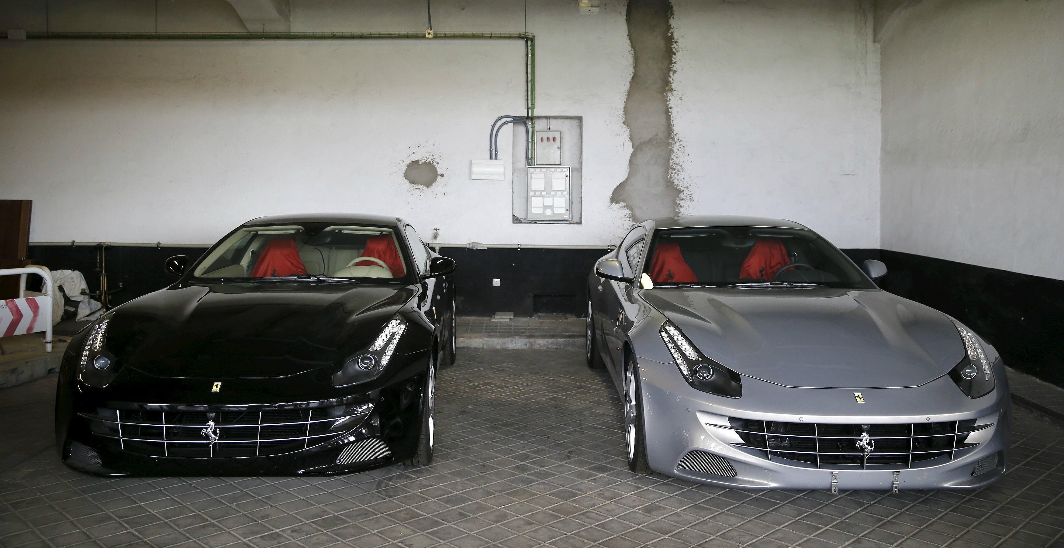 Els Ferrari del rei Joan Carles, a subhasta