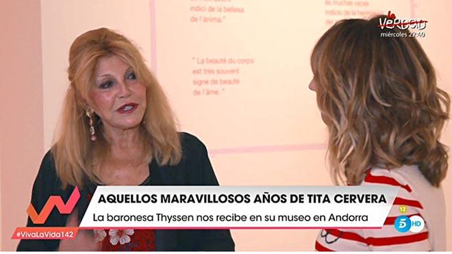 Carmen Cervera y Emma García (Tele 5).