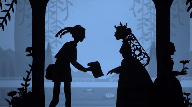 Lotte Reinigeras va inspirar amb les seves siluetes retallades el cine de Disney.