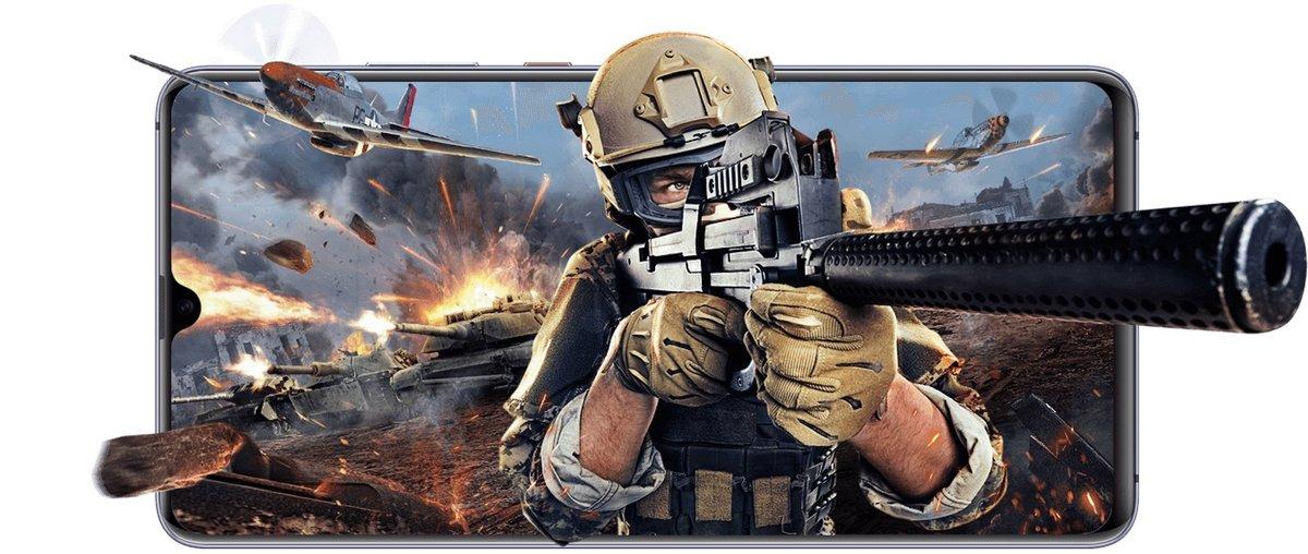 Huawei Mate-20 X, para jugadores.