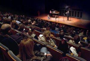 El auditorio del recinto, durante un concierto.