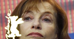 Isabelle Huppert, el sábado durante la presentación de Lo que vendrá en la Berlinale.