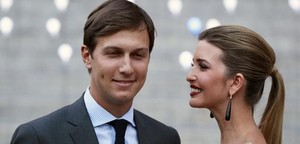 Ivanka Trump, hija de Donald Trump, con su marido Jared Kushner en el 2012.