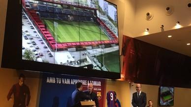El Estadi Johan Cruyff estará acabado en el 2019