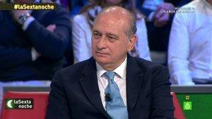 Jorge Fernández Díaz, ex ministro del Interior, en 'laSexta noche'.