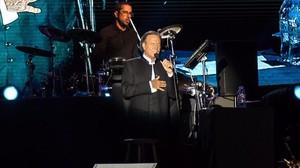 Julio Iglesias, en una actuación en Cambrils en agosto del 2016.