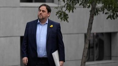 Junqueras pide salir de prisión para hacer campaña electoral
