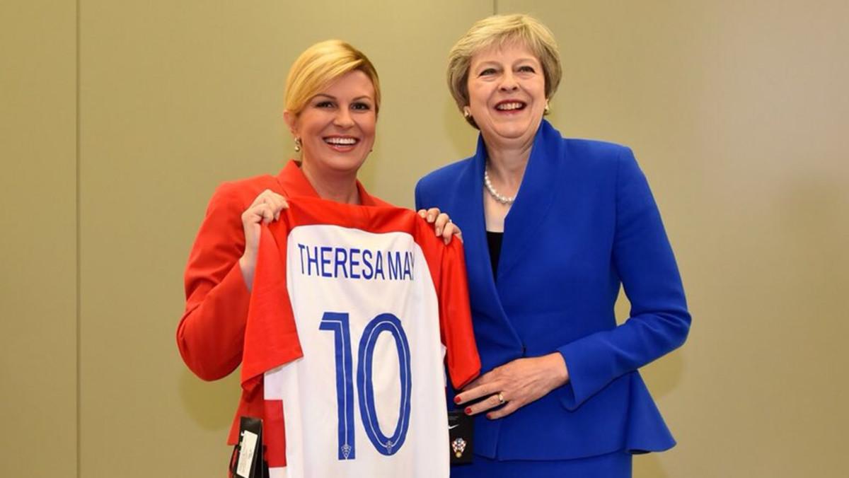 La presidenta de Croàcia, una seguidora més que paga els seus viatges