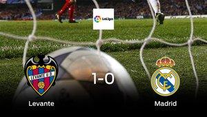 El Levante vence 1-0 en su estadio frente al Real Madrid